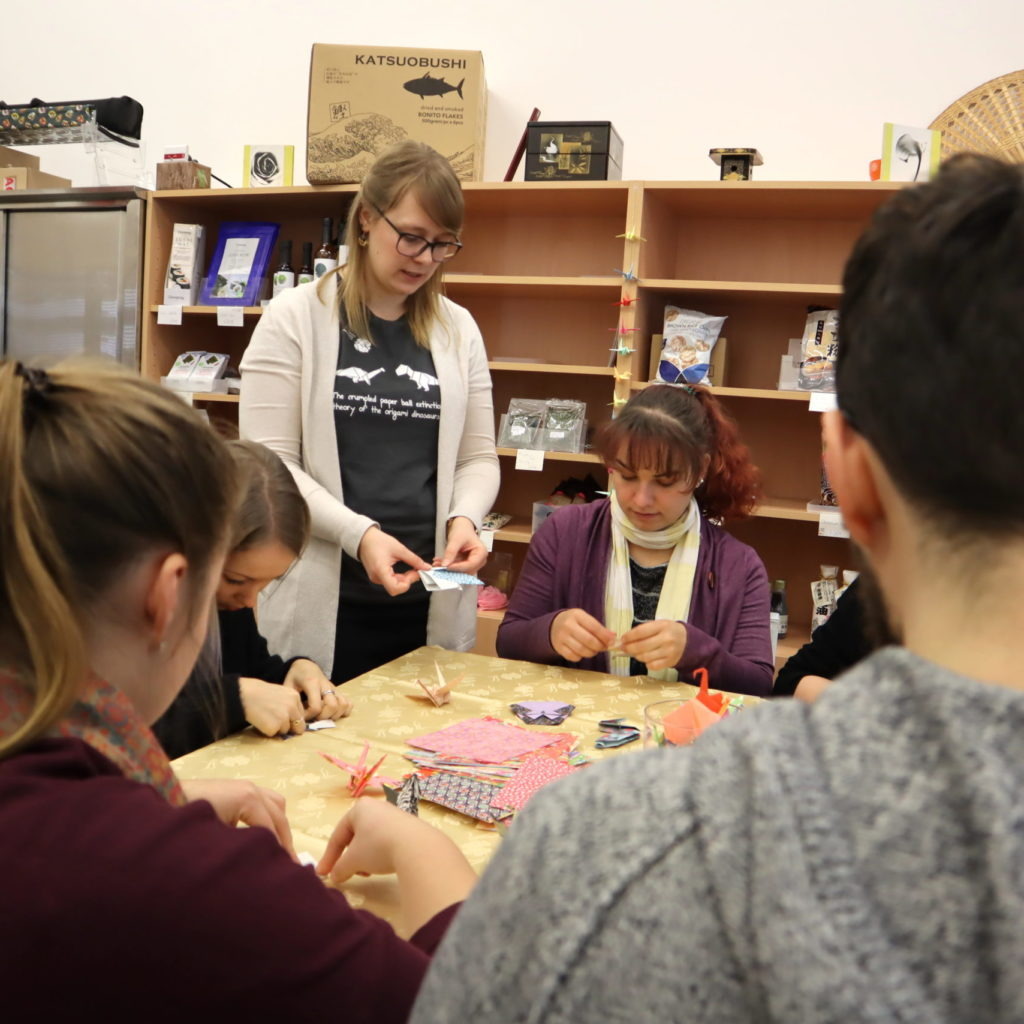 Origamiworkshop für Events