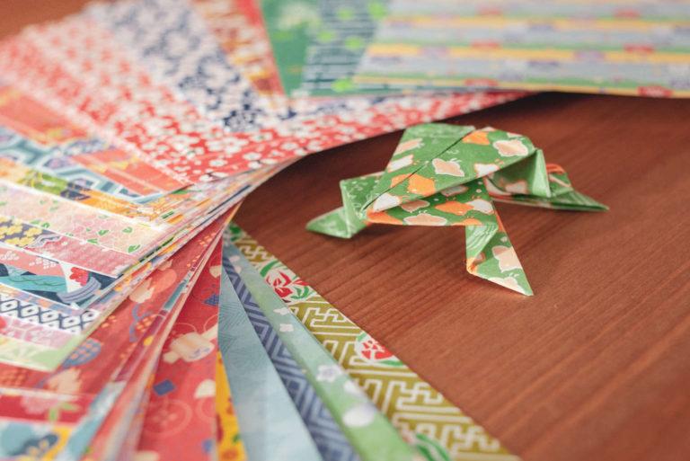 Origamiworkshop - Frosch