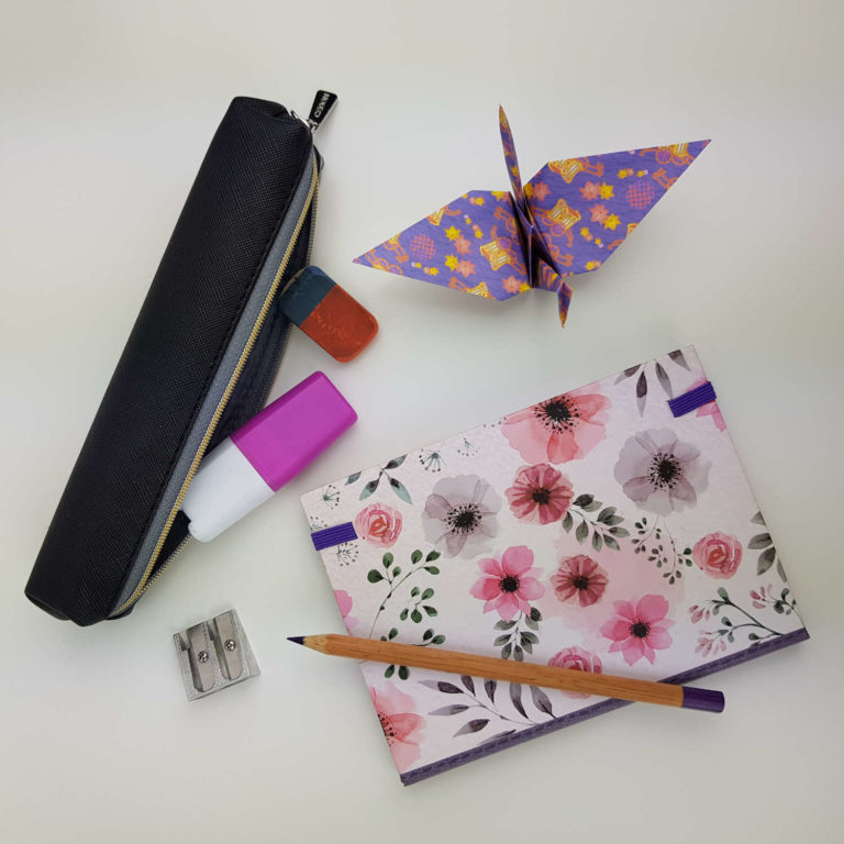 Origami Paket - Origami Anfänger - einfach und unkompliziert Papier falten