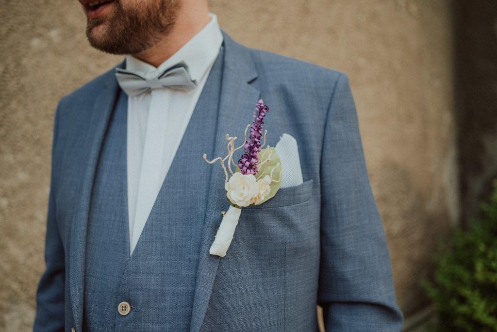 Hochzeit Ansteckblume für Blazer / Sakko