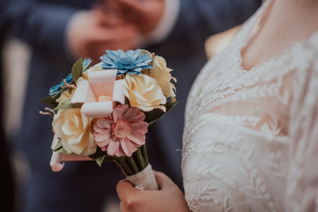 Dein einzigartiger Brautstrauß aus Papier
