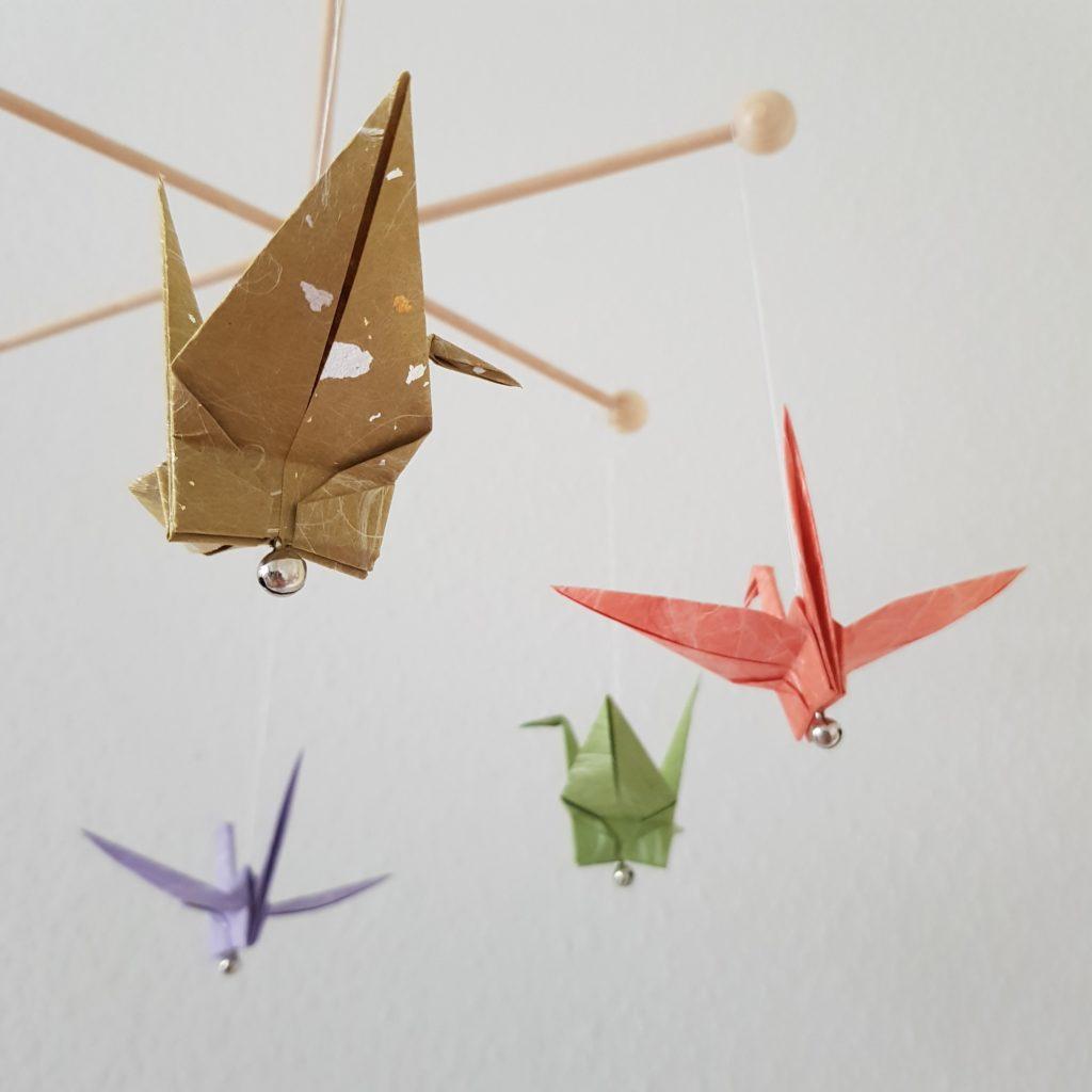 Origami DIY-Box Mobile