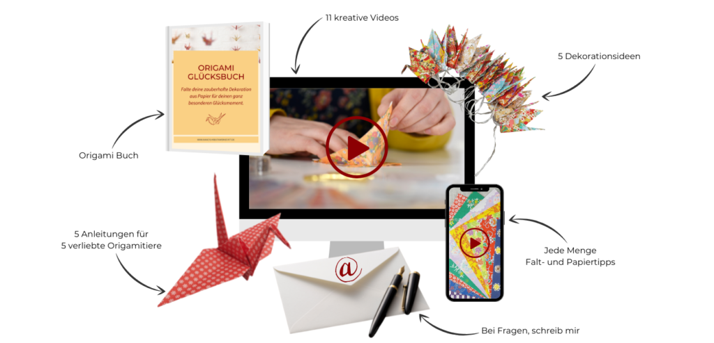 Origami Paket Anleitungen für Anfänger einfach